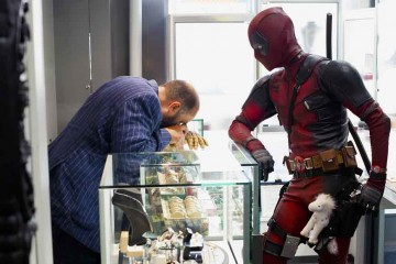 Deadpool at JF Daughters in Epsom